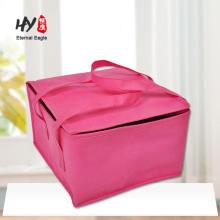 bolsa de asas impresa no tejida del aislamiento del paquete del alimento del refrigerador