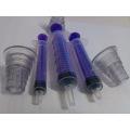 Jeringa Oral Médica con Adaptador de Botella para Beby con Ce ISO 13485