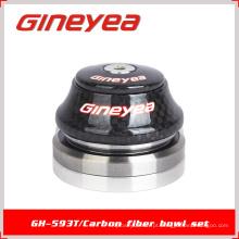 Fones de ouvido de carbono Rolamentos Peças de bicicleta Gineyea GH-593T