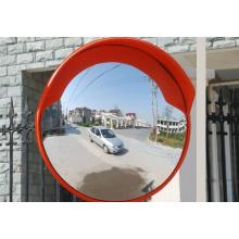 Tráfego de laranja inquebrável espelho convexo interior e exterior
