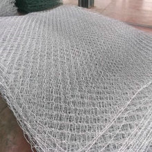 Galvanized Iron Wire Material  Application gabion basket