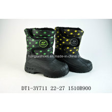 Warm Oxford Cloth Snow Boots