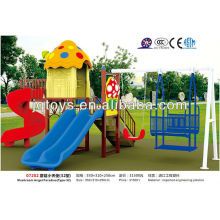 JS07202 New Plastic Outdoor Playground Set For Children