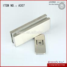 stainless steel concealed floor hinge glass door hardware