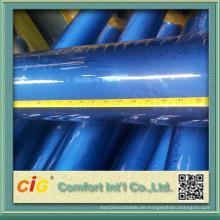 Weiche Handfeeling und gute klare Qualität der transparenten PVC-Folien für die Verpackung
