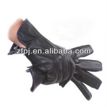 new design fashion gunuine leather rugged wear gloves