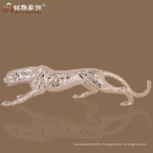 best selling high quality elegant design leopard resin figurine