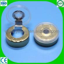 Plastic and Aluminum Tear off Cap for Vials