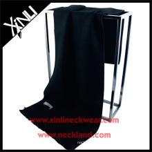 2015 nouveau produit chinois mode soie soie brosse écharpe noire