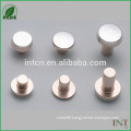 hot sell flat snap head electrical copper rivets