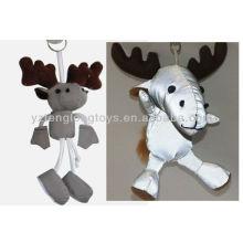 2015 Neues Design Tier Schlüsselanhänger Reflektierende Spielzeug
