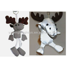 2015 New Design Animal Keychain Reflective Toys