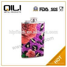 Hot vente 5oz LFGB/FDA wholesale liquor jetables hip flacons pour wending cadeaux