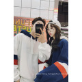New Fashion Sports Youth Splicing Couple Hoodies