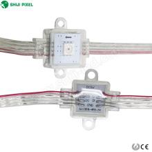 NOUVEAU Design IP67 individuellement adressable 17mm module carré pixel LED 1pcs SMD APA102C chaîne rideau lumière pour festival decora