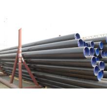 Fabricante laminado en caliente a53 Tubo de línea sin costura para el aceite