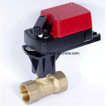 Válvula de bola eléctrica proporcional-integral con ISO / Ce 24VAC
