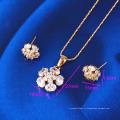 61400-Xuping Мода Поддельные Подвески Формы Цветка Ювелирные Наборы