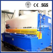 Cortadora de chapa metálica Máquina de corte hidráulico de guillotina (QC12y-12X2500)