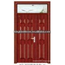 Pop design steel wood double door JKD-3022(A)