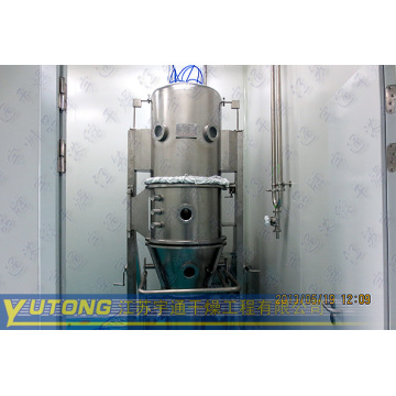sans sucre Fluidized Granulator Fluid Bed Processor