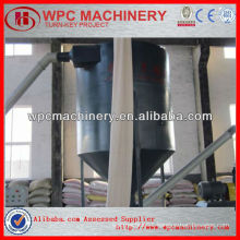 WPC wood plastic miller making machinery