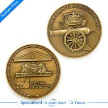 Personalizado estilo antigo Die Casting 3 D ambos laterais souvenir moeda para coleção