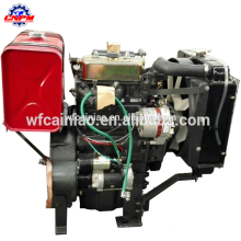 2 cylinder hot sell 20hp diesel engine 4 stroke, small engine