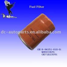 Filtro de combustible diesel Mitsubishi 8-94151-010-0