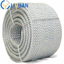 Polypropylene pp rope mooring marine
