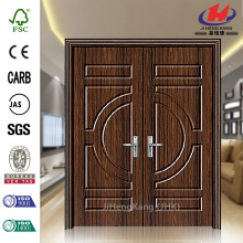 MDF Plastic Double Automatic Interior Swing Door