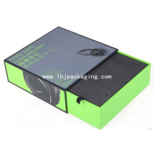 Electrónica de gama alta Empaquetado de papel Caja de cajón de auriculares Bluetooth
