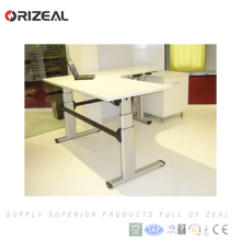 2018 new technology Commercial Office Furniture Sit Stand Lift Electric Adjustable Height Standing Desk with speed 40mm/s