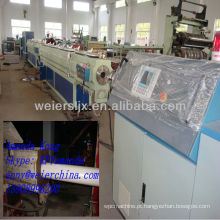 CE Qingdao weier Único parafuso PE tubo máquina de plástico