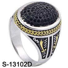 New Model 925 Sterling Silver Jewellery Men Rings (S-13102D)