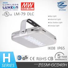 40W IP66 évalué lumière LED haute Bay avec UL/Dlc/SAA
