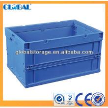 Contêiner de armazenamento empilhável / contêiner plástico dobrável