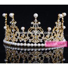 Verdadero diamante belleza mujeres accesorios china tiara