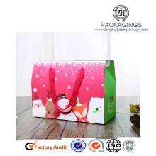 Christmas collapsible paper gift packaging box