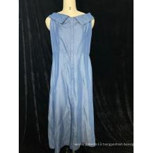 Sleeveless Denim Skirts For Ladies