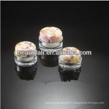 15ml 30ml 50ml 100ml Double Wall Luxury Round Acrylic Cosmetic Jar