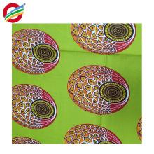 Tissu tissé pur de polyester africain de sergé de cire imprime à vendre