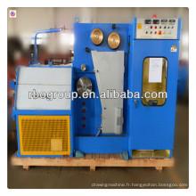 22DT(0.1-0.4) machine de cuivre de tréfilage fine avec ennealing (machine de traitement du fil de cuivre)