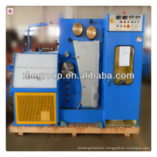 22DT(0.1-0.4)Copper fine wire drawing machine with ennealing(copper wire processing machine)