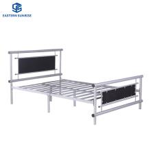 Hospital Hotel Dorm Modern Metal Furniture Steel Single Plate Bed