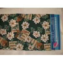 Tecido de impressão 100% poliéster para jogo de cama e para outros têxteis para o lar