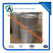 Высокое качество 1х1 дюйм квадратная оцинкованная сварная сетка (АДС-ЮЗ-07)