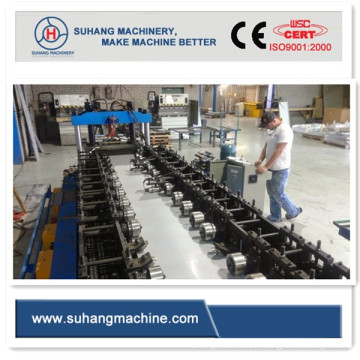 Ce and ISO Certificated Warehouse Racking Shelf Roll Forming Machine