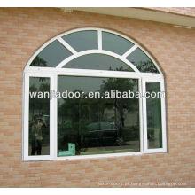 janelas de arco de alumínio de casas modernas