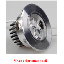 Silver Color Outer Shell Epistar 2835SMD LED Down Light